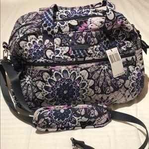 NWT. Vera Bradley Compact Traveler Bag